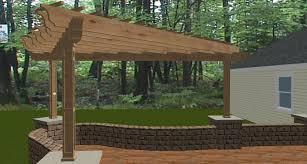 exterior design woodwork pergola plans 12x12 for patio decoration