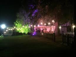 Festoon Lighting Outdoor Festoon Lighting Hire In Cheshire Lighting Dancefloors Staging