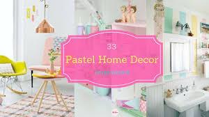 33 beautiful pastel home decor inspirations youtube