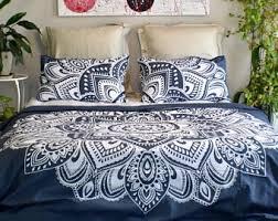 Tapestry Duvet Mandala Duvet Cover Etsy