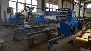 operation of the portable cnc flame cutting machine from china