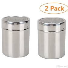 Spice Shaker 2017 Aicen Stainless Steel Flour Sifter Icing Sugar Dredger