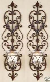 Pier One Wall Sconces Iron Wall Sconces Wall Sconces Tuscany Wrought Iron Scroll Wall