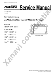 service manual electrical connector radio