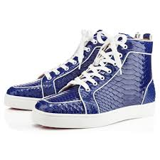 boot christian louboutin mens sneakers louis spikes suede