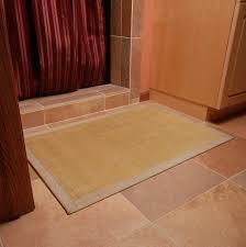 Bamboo Bathroom Rug Bathroom Design Key Lime Rug For Bamboo Bath Mat With Tile Floor