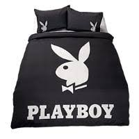 Playboy Duvet Covers Playboy Duvet Cover Set Logo Panel King Nz Prices Priceme
