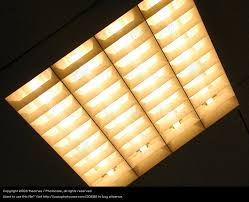 Office Ceiling Lights Lamp Neon Light A Royalty Free Stock Photo From Photocase