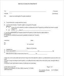 printable eviction notice form menu and free printables