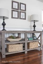 X Console Table Makeover Monday X Media Console Shades Of Blue Interiors
