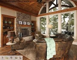 Rustic Livingroom Furniture by Rustic Lake House Decorating Ideas Rustic Lake House Decorating