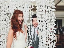 Wedding Backdrop Diy Diy Wax Paper Wedding Backdrop Youtube