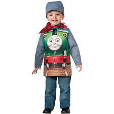 boys kids halloween costumes thomas the tank deluxe percy toddler halloween costume 3t 4t