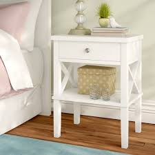 andover mills silvestri 1 drawer nightstand u0026 reviews wayfair