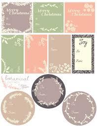 printable botanical labels for gifts worldlabel