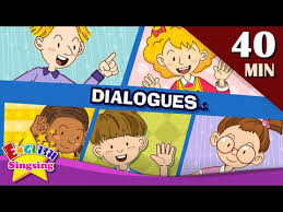 7 Best Images Of Easy by Good Morning More Kids Dialogues Learn English For Kids