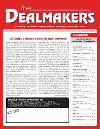 dealmakers magazine december 7 2012 by the dealmakers magazine