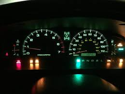 trac off and check engine light toyota speedometer odometer not working related warning lights p0500