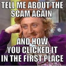Scam Meme - internet scam meme medison scam