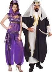 Sheik Halloween Costume Couples Halloween Costumes Costume Craze
