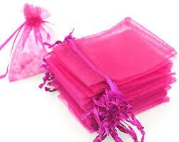 pink organza bags pink organza bags etsy
