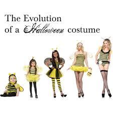 Bee Halloween Costume Evolution Halloween Costume Bumble Bee Polyvore