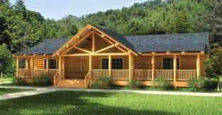 one story cottage plans finally a one story log home that has it all click to view floor