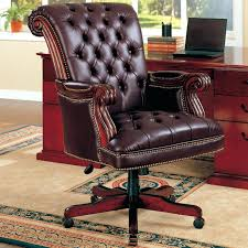 brown leather executive desk chair desk chair leather used hooker leather executive office chair brown