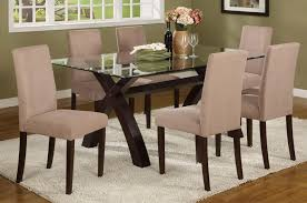 glass topped dining room tables home interior decorating