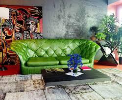 bohemian interior design gray fabric cover sectional l sofa brown