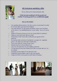 All Inclusive Wedding Venues Weddings Inchture Hotel
