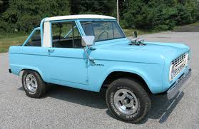 blue bronco car 1966 ford bronco connors motorcar company