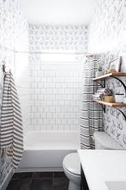 jackalope wallpaper bathroom diy smooth textured walls jackalope wallpaper over textured walls one little minute blog 25