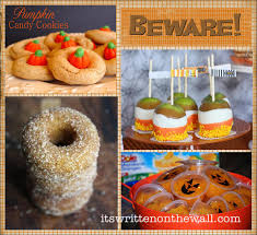 it u0027s written on the wall 25 halloween treat dessert ideas for