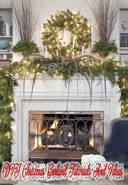 Easy Diy Christmas Tree Garland Diy Christmas Garland Tutorials And Ideas Quiet Corner