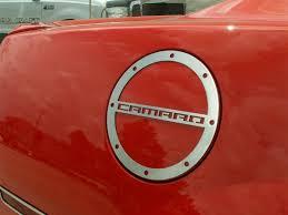 camaro fuel camaro fuel door cover brushed 102059 2010 2015 camaro by