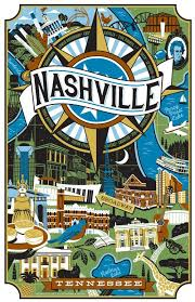 Tennessee travel posters images 244 best lithograph of places images bright color jpg
