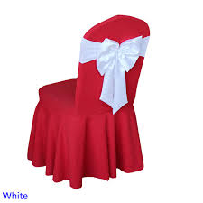 satin sashes wedding butterfly bow tie spandex satin sash can self tie chair