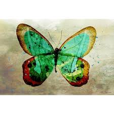 Wall Decor Canvas Maxwell Dickson U0027butterfly U0027 Wall Decor Canvas Art Free Shipping