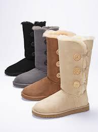 ugg boots sale secret s secret ugg bailey button triplet boot in gray so me
