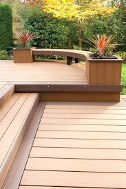 wooden deck benches plans built in wood deck benches 12 photos of