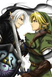 zelda link with black hair hyrule academy link x reader x dark link fan art temple and