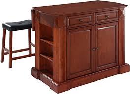 cherry kitchen island crosley furniture drop leaf kitchen island breakfast