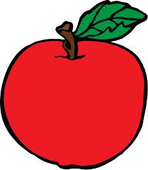 apple cartoon apple free stock photo illustration of a red apple 11452