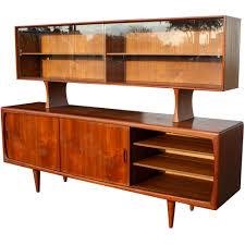 Teak Bedroom Furniture by Danish Modern Teak Breakfront Buffet Mid Century Pinterest