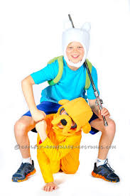 Finn Jake Halloween Costume Coolest Homemade Cartoon Network Costumes
