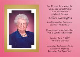 retirement announcement retirement party invitation style 1 sle c