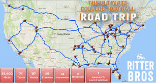 United States Road Trip Map by The Gametime Road Trip Ends On Good Morning America