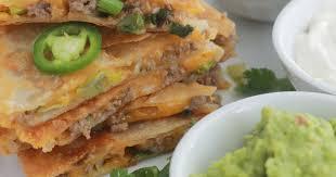 recette de cuisine mexicaine facile recettes de cuisine mexicaine et de fromage