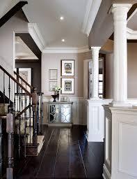 beautiful foyer decor inspiration love the white with dark wood